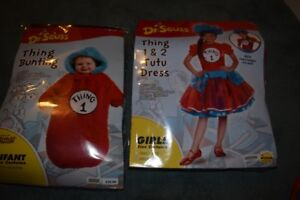 Thing one and thing two halloween costume