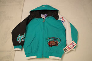 Vancouver Grizzlies Youth Winter Jacket: Brand New w/Tags!