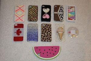 10 cell phone cases for iPhone 4 or 4S and 5 home buttons