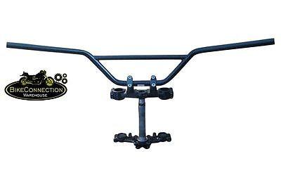 90 cm breiter Moto Cross und Enduro Lenker schwarz Ø 7/8