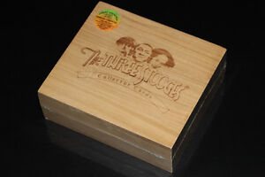 THE THREE STOOGES-CARTES/CARDS-WOOD BOX (NEUF/NEW SEALED)
