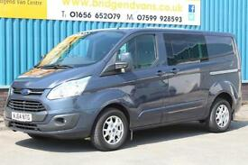 2014 FORD TRANSIT CUSTOM 290 LIMITED DOUBLECAB 6 SEAT COMBI 125 BHP L1 SWB DIESE