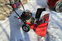 "Mastercraft 8.0 HP/24""  Snowblower"