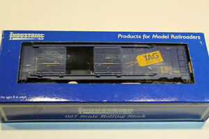 Lionel Trains Industrial Rail O O-27 Scale Double Door Box Car