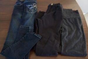 Lot vêtements fille grandeur 12 ans