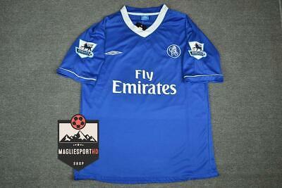 Maglia Chelsea 2003-2005 - Calcio Vintage Retro Lampard Zola Makelele
