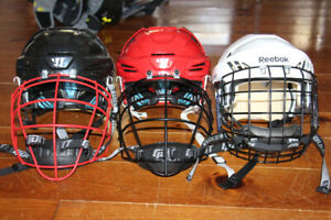Lacrosse/Hockey Helmets and Cages