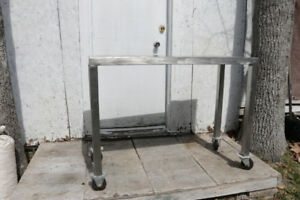 FOOD GRADE STAINLESS STEEL TABLE #3
