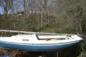 Bluejacket sailboat, 23 Ft built in 1972