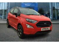 2019 Ford Ecosport ST-LINE 1.0 ECOBOOST WITH REAR CAMERA AND SAT NAV! Manual Hat
