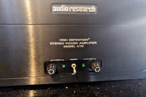 Audio Research V70 Tube Power Amplifier