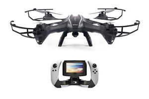 RealTime Video Quadcopter Drone, UDI Lark w/ built-in LCD Screen
