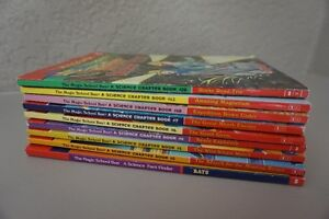 """9 SOFT COVER """"MAGIC SSHOOL BUS"""" SCIENCE CHAPTER BOOKS~$2.75 EACH"""