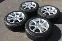 4 Mags / tires Nokian Hakapeliitta   205 55 16