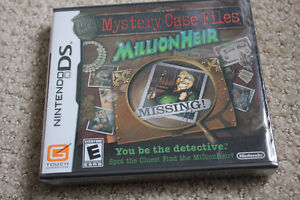 Mystery case Files Millionaire Missing, Nintendo DS
