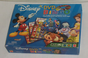 Disney DVD Bingo Game Mickey Minnie Mouse Lion King, Snow white