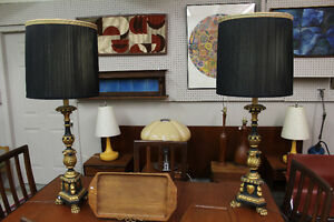 Antique Neoclassical Revival Lamps!