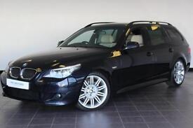 2009 BMW 5 SERIES 525D M SPORT BUSINESS EDITION TOURING ESTATE DIESEL