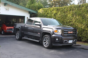 2015 GMC 1500 SIERRA SLT ALL-TERRAIN crew low k's (trade?)