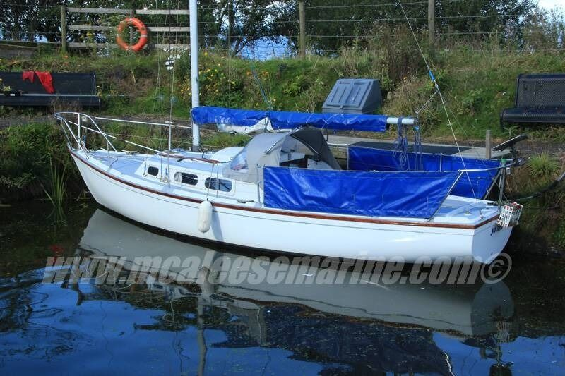 Achilles 24 foot sail boat McAleese Marine