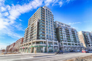 Large over 900SqFt Condo 2 BR 2 WR in Markham with Large Balcony