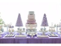 Amazing wedding cakes, sweet / dessert tables / sweet favours