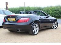 2014 M MERCEDES-BENZ SLK 2.1 SLK250 CDI BLUEEFFICIENCY 2D AUTO 204 BHP DIESEL