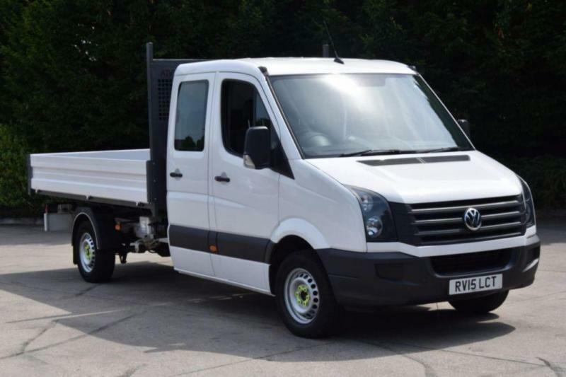 2.0 CR35 TDI LWB RWD 4D 109 BHP D/CAB 7 SEATER DIESEL MANUAL TIPPER 2015