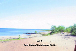 0.46 acre building lot 79' on lake Huron in Thessalon