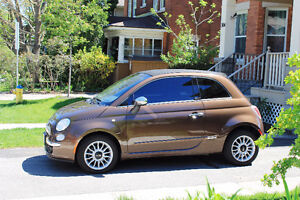 2013 Fiat 500c - Leather, Convertible EXCELLENT CONDITION!