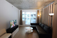 Downtown fully furnished luxury condo near Concordia Univ.