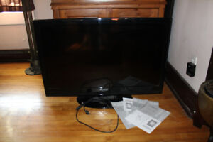 40 inch lcd dynex samsung flat screen tv FOR PARTS OR REPAIR