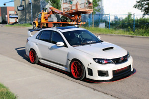 Subaru Wrx Sti 2012 modified and extremely clean