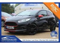 2016 66 FORD FIESTA 1.0 ST-LINE BLACK EDITION 3D 139 BHP