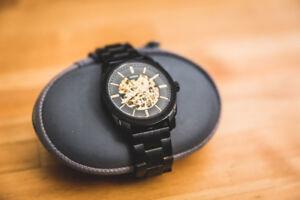 NEW Fossil Machine Mechanical Watch