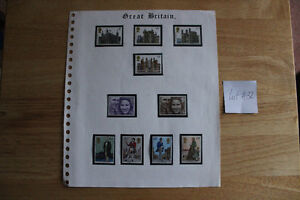 British Stamps - Various Commemoratives  - All Mint Kitchener / Waterloo Kitchener Area image 1