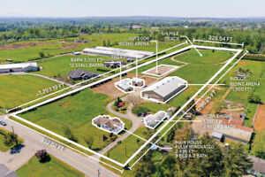 FOR SALE $3,600,000  9.5 Acres Two Houses & Equestrian Facilit