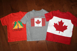 3 Canada T Shirts - 3T
