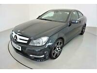 2013 Mercedes-Benz C-CLASS 2.1 C250 CDI BLUEEFFICIENCY AMG SPORT PLUS 2d AUTO-HA