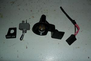 1970 - 74 Cuda Challenger Map light switch bezel light harness