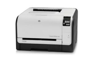 HP COLOUR LASER JET CP1525NW WIRELESS PRINTER