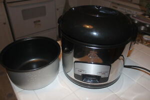 WOLFGANG PUCK RICE COOKER / STEAMER (like new)