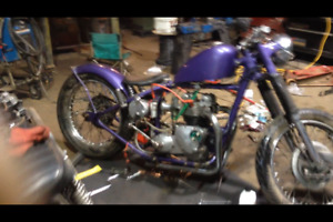 Rebuilt triumph motor and many other parts