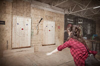 Looking for Axe Throwing Coaches & Event Hosts - Edmonton