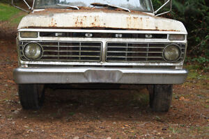 FORD 1973 to 79 PICK-UP TRUCK PARTS (mechanical – body - interio