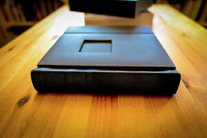 Black 10x10 Self Mount Photo Wedding Album with 30 pages(sides)