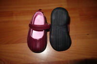 Wine Children's Place Size 4 Baby Girl Shoes