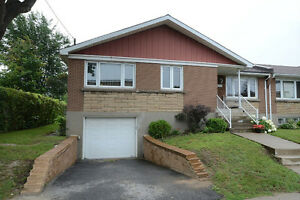 NEW TURNKEY HOME WITH GARAGE IN COTE ST LUC NEAR BUS,  SCHOOLS