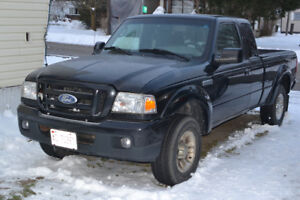 2007 Ford Ranger cab plus, truck, trade for 2 Honda ATC70 s