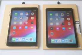 iPad air 1, 16gb wifi/cellular £95 each. iOS 12. No offers